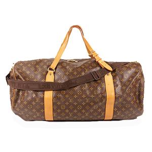 Auth Louis Vuitton Monogram SacPolochon M41222 Boston Bag