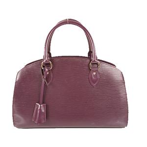 Louis Vuitton Epi Pont Neuf PM M5907K Women's Boston Bag,Handbag Cassis
