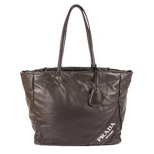 Prad  Totebag Women's Nylon Tote Bag Black
