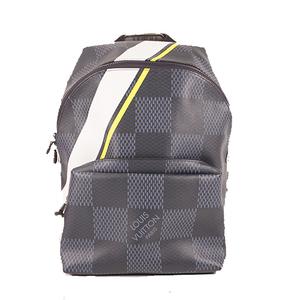 Louis Vuitton Damier Cobalt  Louis Vuitton Cup Apollo Backpack N44005 Men's Backpack Navy