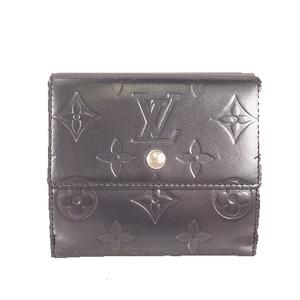 Louis Vuitton Monogram Mat Porte Monnaie Billet Cartes Credit M65115 Unisex,Women,Men  Long Bill Wallet (tri-fold) Blue