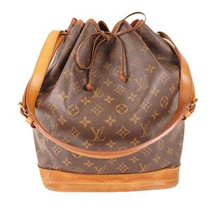 Louis Vuitton Monogram M42224 Women's Shoulder Bag Brown