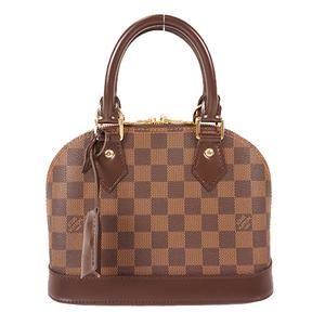 Louis Vuitton Damier N41221 Women's Handbag Ebene
