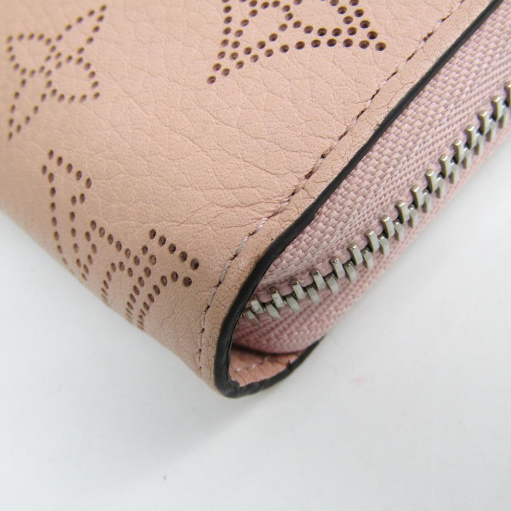 new arrival bf7b4 0cd7c Louis Vuitton Mahina Zippy Wallet M61868 Women's Leather Long Wallet  (bi-fold) Magnolia | eLady.com