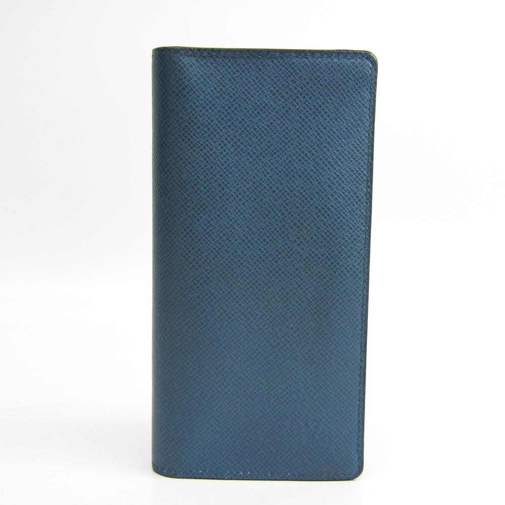 half off c17f7 f1074 ルイ・ヴィトン(Louis Vuitton) タイガ ポルトフォイユ・ブラザ M32816 メンズ タイガ 長財布(二つ折り) オセアン |  eLady.com