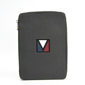 Louis Vuitton Planner Cover Gray V-Line Zip Around Organizer
