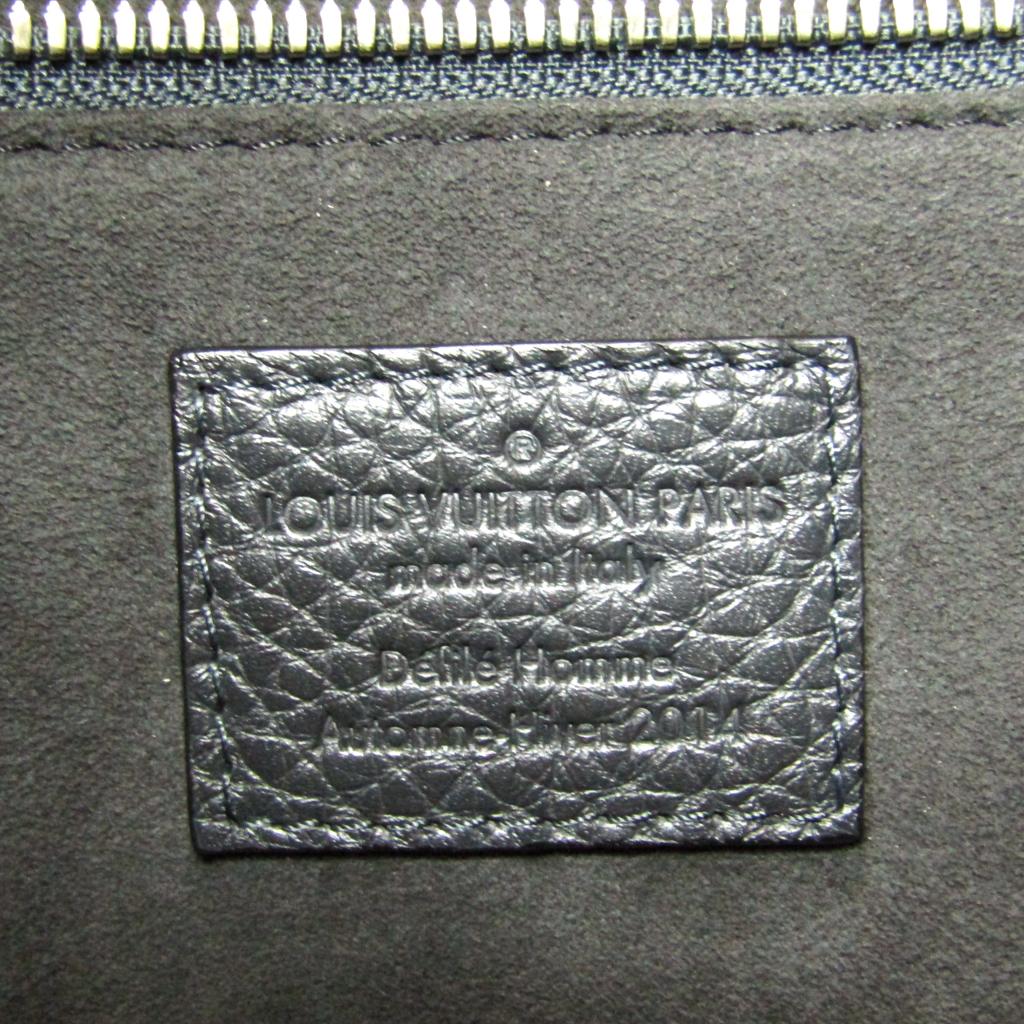 ルイ・ヴィトン(Louis Vuitton) トリヨン ポートフォリオ 2014秋冬コレクション メンズ クラッチバッグ,ハンドバッグ ノワール