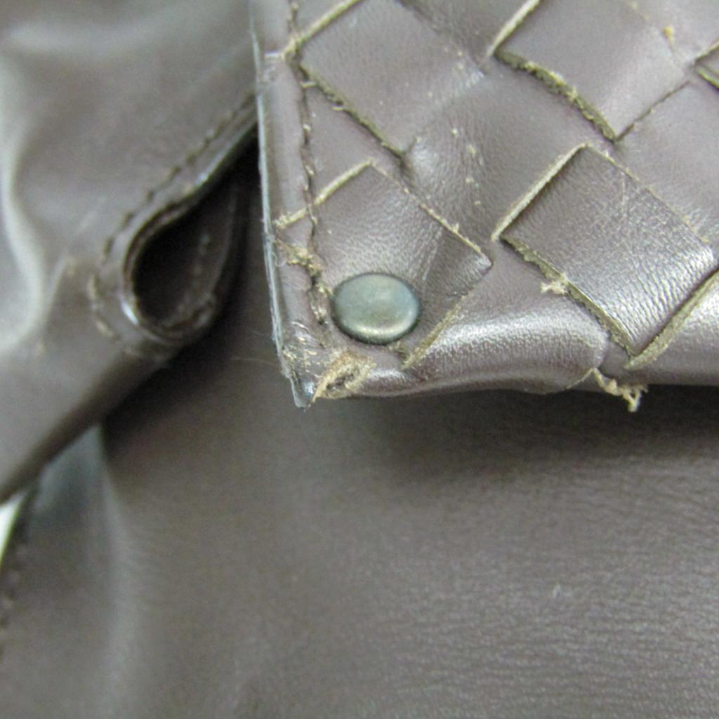 ボッテガ・ヴェネタ(Bottega Veneta) イントレチャート 121604 ユニセックス レザー ウエストバッグ,ショルダーバッグ ブラウン