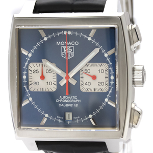 TAG HEUER Monaco Chronograph Steel Automatic Watch CAW2111