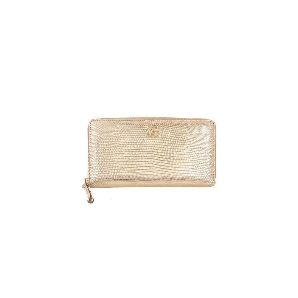 hot sales 3c612 6f823 Gucci 長財布 Long Wallet GG Mermont 456117 Women's Long Wallet (bi-fold) Gold  | eLady.com