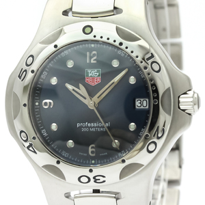Tag Heuer Kirium Quartz Stainless Steel Men's Sports Watch WL1113