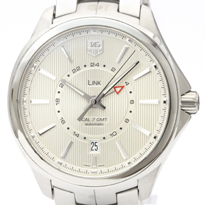 Tag Heuer Link Automatic Stainless Steel Men's Sports Watch WAT201B