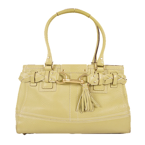 Coach 10528 Women's Leather Handbag,Tote Bag Green
