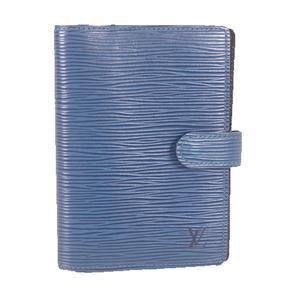 Louis Vuitton Epi Compact Size Planner Cover Toledo Blue R20057 Agenda PM