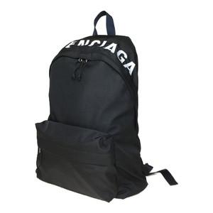 バレンシアガ(Balenciaga) ウィールバックパック 525162 9F91X 1090 ナイロン リュックサック ブラック ネイビー