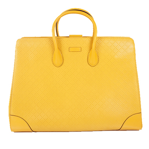 Auth Gucci Tote Bag Yellow 354231