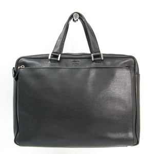 Fendi 7VA323 Men's Leather Briefcase Black