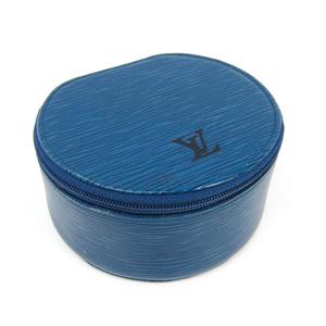 ルイ・ヴィトン(Louis Vuitton) エピ エクランビジュー12 M48225 ジュエリーケース トレドブルー エピレザー