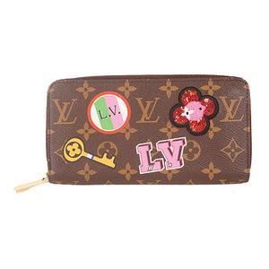 ルイ・ヴィトン(Louis Vuitton) モノグラム ステッカー ジッピーウォレット Monogram sticker zippy wallet M63392  長財布(二つ折り) モノグラム