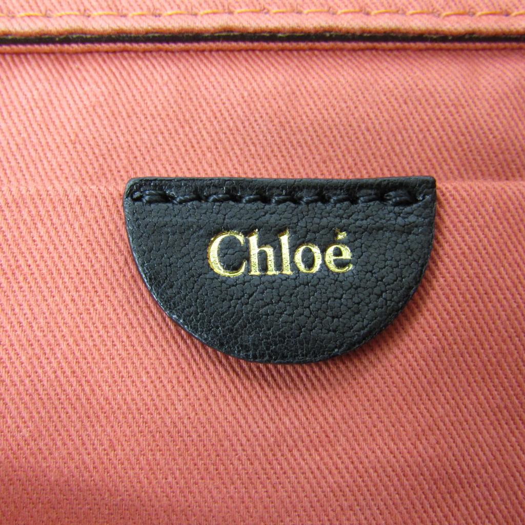 クロエ(Chloé) アンジー/Angie レディース レザー クラッチバッグ ブラック