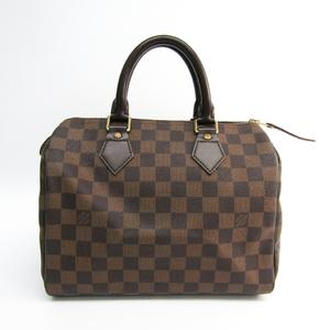 Louis Vuitton Damier Speedy 25 N41532 Women's Handbag Ebene