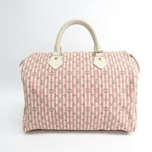 Louis Vuitton Monogram Mini Lin Speedy 30 M95501 Handbag Rouge