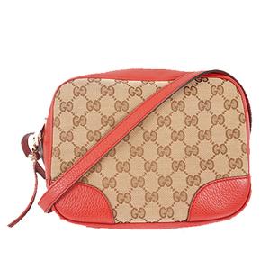 Auth Gucci GG Canvas Shoulder Bag 449413
