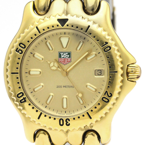 TAG HEUER Sel Professional 200M Gold Plate Quartz Mens Watch S94.406
