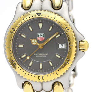 TAG HEUER Sel Professional Gold Plated Steel Mens Watch WG1220