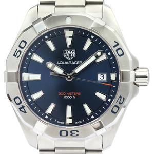 Tag Heuer Aquaracer Quartz Stainless Steel Men's Sports Watch WBD1112