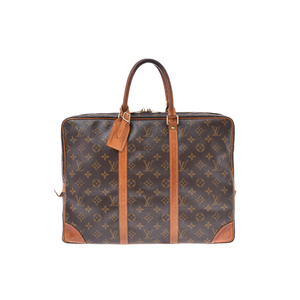ルイ・ヴィトン(Louis Vuitton) モノグラム M40226 ブリーフケース ブラウン