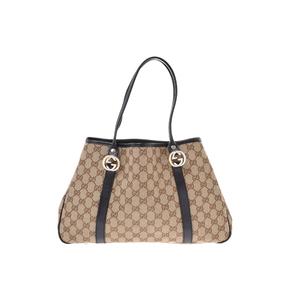 Gucci GG Canvas GG Canvas Bag Beige/Black