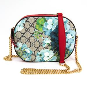 Gucci GG Blooms 546313 Women's GG Supreme,Leather Shoulder Bag Beige,Blue,Navy,Red