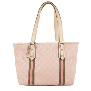 Gucci GG Canvas Tote Bag 137396 Women's GG Canvas Handbag,Shoulder Bag,Tote Bag Pink