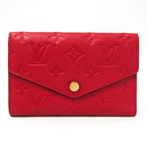 ルイ・ヴィトン(Louis Vuitton) モノグラムアンプラント ポルトフォイユ・キュリーズ コンパクト M60735 レディース モノグラムアンプラント 中財布(三つ折り) スリーズ