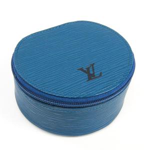 ルイ・ヴィトン(Louis Vuitton) エピ エクランビジュー10 M48215 ジュエリーケース トレドブルー エピレザー