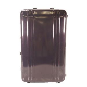 ゼロハリバートン スーツケース ブラック シルバー
