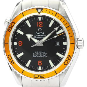 OMEGA Seamaster Planet Ocean Orange Automatic Watch 2208.50