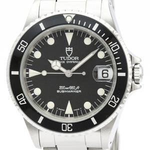 TUDOR Rolex Prince Oyster Date Submariner Steel Watch 75090