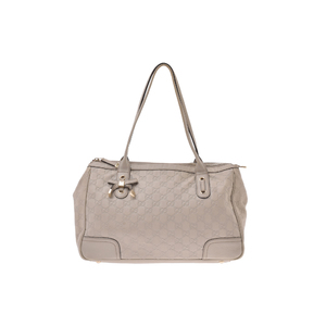 Gucci Guccissima Leather Bag Ivory
