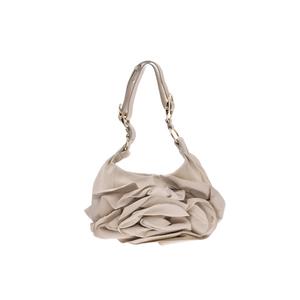 サン・ローラン(Saint Laurent) Shoulder bag レザー ショルダーバッグ ホワイト