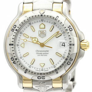 Tag Heuer 6000 Series Automatic Stainless Steel,Yellow Gold (18K) Men's Sports Watch WH5151