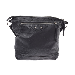 Balenciaga Day The Day Leather Bag Black
