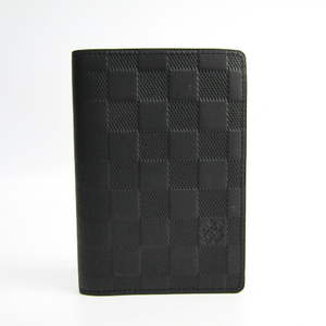 Louis Vuitton Damier Infini Damier Infini Passport Cover Onyx Passport Cover N63127