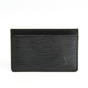 Louis Vuitton Epi Simple Card Case M63512 Epi Leather Card Case Noir