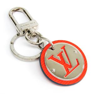 Louis Vuitton Epi LV Circle Key Holder M62689 Keyring (Orange)