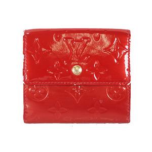 ルイヴィトン 二つ折り財布 ヴェルニ ポルトモネビエカルトクレディ M91982