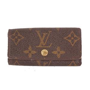 Louis Vuitton Monogram Multicles 4 M62631 Unisex,Men,Women Monogram Key Case Brown