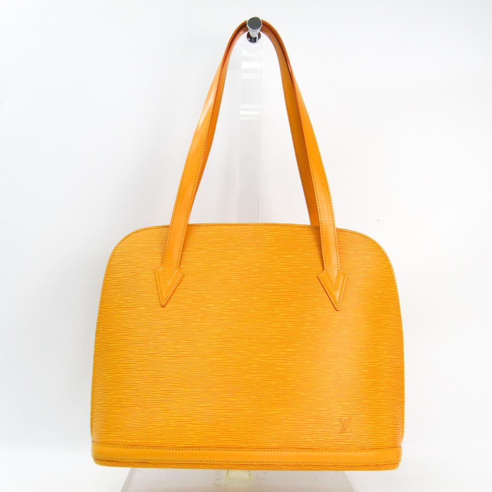 Louis Vuitton Epi Lussac M52289 Shoulder Bag Jaune