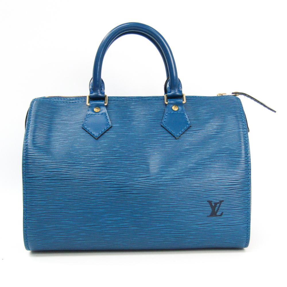 ルイ・ヴィトン(Louis Vuitton) エピ スピーディ25 M43015 レディース ハンドバッグ トレドブルー